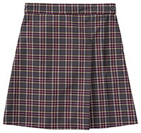 Classroom Girls Plaid Double Pleated Scooter (5P5351A-P43) (5P5351A-P43)