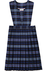 Classroom Uniforms V-Front Jumper Model 62 PLAID 41 (5PC4623A-P41)