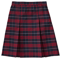 Classroom Uniforms Kick Pleat Model 34 PLAID 37 (5PC5343A-P37)