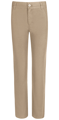 Real School Uniforms REAL SCHOOL Men's Stretch Skinny Pant Khaki (60244-RKAK)