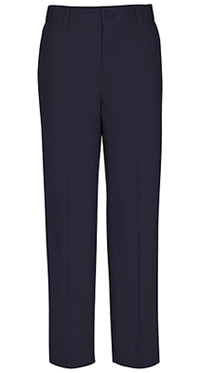 Real School Uniforms REAL SCHOOL Boys Flat Front Pant Navy (60362-RNVY)