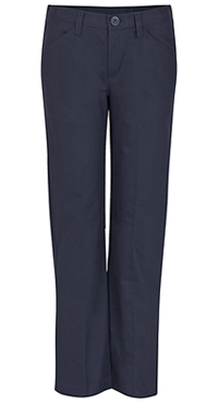 Real School Uniforms REAL SCHOOL Girls Low Rise Pant Navy (61072-RNVY)