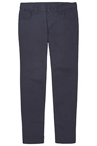 Real School Uniforms Juniors 5-Pocket Stretch Skinny Pant Navy (61334-RNVY)