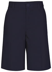 Real School Uniforms REAL SCHOOL Men's Flat Front Short Navy (62364-RNVY)