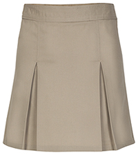 Real School Uniforms REAL SCHOOL Girls Pleated Scooter Khaki (65322-RKAK)
