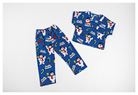 Tooniforms Kids Top and Pant Scrub Set I Love Frosty (6620C-FRIH)