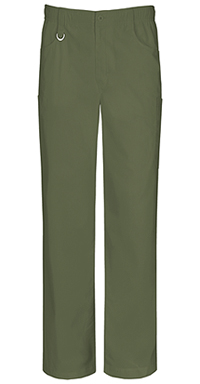 Men's Zip Fly Pull-on Pant Olive (81111A-OLWZ)
