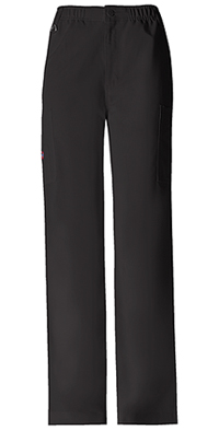 Dickies Men's Zip Fly Pull-On Pant Black (81210-BLKZ)