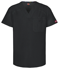 Dickies Men's V-Neck Top Black (81714A-BLWZ)