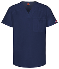 Dickies Men's V-Neck Top Navy (81714A-NVWZ)