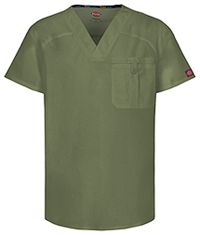 Dickies Men's V-Neck Top Olive (81714A-OLWZ)