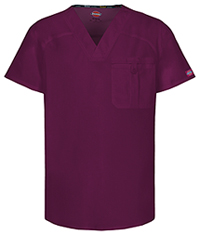 Men's V-Neck Top Wine (81714A-WIWZ)