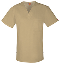 Dickies Men's V-Neck Top Dark Khaki (81800-KHK)