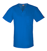 Dickies Men's V-Neck Top Royal (81800-ROWZ)