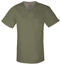 Dickies Men's V-Neck Top Sage (81800-SAWZ)