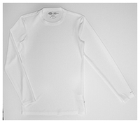 Dickies Men's Long Sleeve Crew Neck Shirt White (81925-DWHZ)