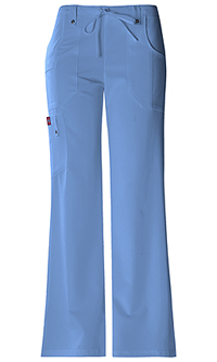 Dickies Mid Rise Drawstring Cargo Pant Ceil Blue (82011-CBLZ)