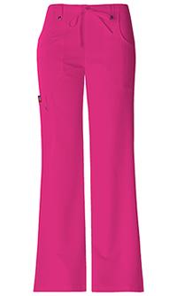 Dickies Mid Rise Drawstring Cargo Pant Hot Pink (82011-HPKZ)