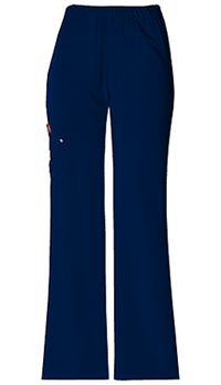 Xtreme Stretch Mid Rise Pull-On Cargo Pant (82012P-NVYZ) (82012P-NVYZ)