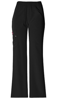 Xtreme Stretch Mid Rise Pull-On Cargo Pant (82012-BLKZ) (82012-BLKZ)