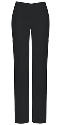 Dickies Mid Rise Moderate Flare Leg Pull-On Pant Black (82204A-BLWZ)