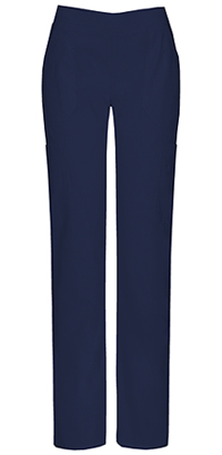 Dickies Mid Rise Moderate Flare Leg Pull-On Pant Navy (82204A-NVWZ)