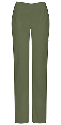 Dickies Mid Rise Moderate Flare Leg Pull-On Pant Olive (82204A-OLWZ)
