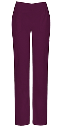 Dickies Mid Rise Moderate Flare Leg Pull-On Pant Wine (82204A-WIWZ)