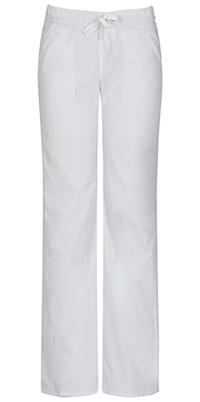 Low Rise Straight Leg Drawstring Pant (82212AP-WHWZ)