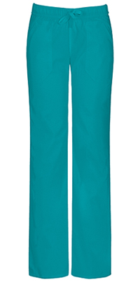 EDS Signature Stretch Low Rise Straight Leg Drawstring Pant (82212AT-TLB) (82212AT-TLB)