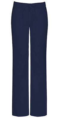 EDS Signature Stretch Low Rise Straight Leg Drawstring Pant (82212A-NVWZ) (82212A-NVWZ)