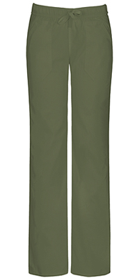 EDS Signature Stretch Low Rise Straight Leg Drawstring Pant (82212A-OLWZ) (82212A-OLWZ)