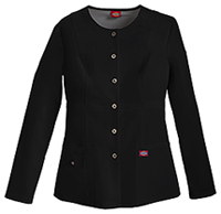 Xtreme Stretch Snap Front Warm-Up Jacket (82310-BLKZ) (82310-BLKZ)