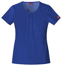 Dickies Round Neck Top Galaxy Blue (82850-GBLZ)