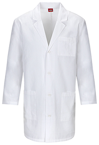 Dickies 37 Unisex Lab Coat White (83402AB-WHWZ)