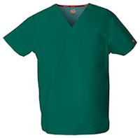 Dickies Unisex V-Neck Top Hunter (83706-HUWZ)