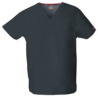 Dickies Unisex Tuckable V-Neck Top Pewter (83706-PTWZ)