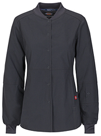 Dickies Snap Front Warm-up Jacket Pewter (85304A-PTWZ)