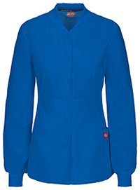 Dickies Snap Front Warm-up Jacket Royal (85304A-ROWZ)