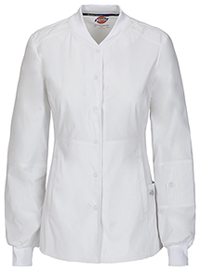 Dickies Snap Front Warm-up Jacket White (85304A-WHWZ)