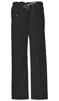 Dickies Low Rise Drawstring Cargo Pant Black (857455P-BLKZ)