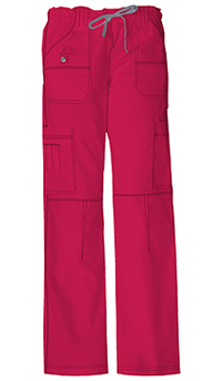 Dickies Low Rise Drawstring Cargo Pant Crimson (857455P-CRMZ)