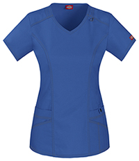 Dickies V-Neck Top Royal (85812-RYLZ)
