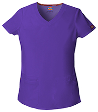 Dickies V-Neck Top Grape (85906-GPWZ)