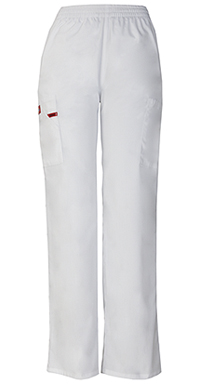 Natural Rise Tapered Leg Pull-On Pant (86106P-WHWZ)