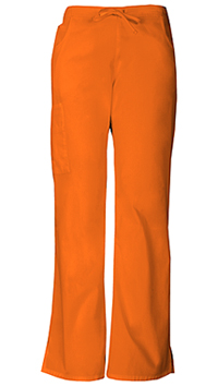 Dickies Mid Rise Drawstring Cargo Pant Pumpkin (86206-PUMZ)