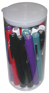 Fashion Accessories Disp. Penlight 22/Cylinder (AD358-AST) (AD358-AST)