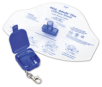 ADC Adsafe Face Shield Plus w/keychain Royal (AD4056Q-ROY)