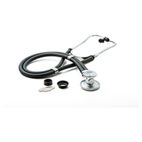 critical care cardiology ADSCOPE641 Sprague Rappaport Stethoscope (AD641Q-BK) (AD641Q-BK)