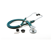 ADC ADSCOPE641 Sprague Rappaport Stethoscope Caribbean Blue (AD641Q-CAR)